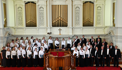 Connecticut Master Chorale Group Picture