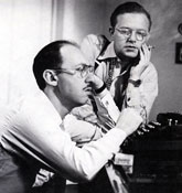 Jule Styne and Sammy Cahn