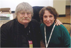 Karl Jenkins with Tina